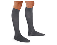 Therafirm 15-20 mmHg Mens Trouser Sock CHARCOAL (TF691-CHAR)