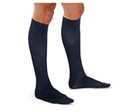 30-40 mmHg Mens Trouser Sock (TF693-NVY)