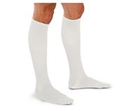 30-40 mmHg Mens Trouser Sock (TF693-WHT)