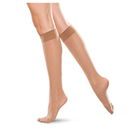 Therafirm 30-40 mmHg Knee-High Closed Toe Sand (TF766-SAND)
