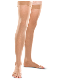 Therafirm 30-40 mmHg Thigh High Open Toe Sand (TF768-SAND)