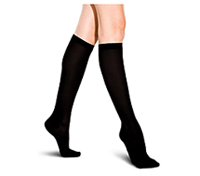 Therafirm 10-15 mmHg Support Trouser Sock Black (TF902-RBLK)