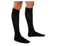 Therafirm 10-15 mmHg Mens Support Trouser Sock Black (TF904-BLK)