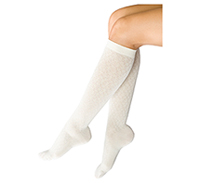 Therafirm 10-15 mmHg Support Trouser Sock Diamond Winter White (TF953-DWW)