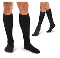 Therafirm 20-30 mmHg Moderate Suport Sock Black (TFCS187-BLK)
