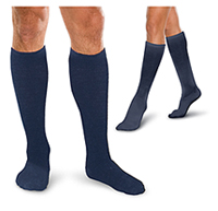 Therafirm 30-40 mmHg Firm Support Sock Navy (TFCS197-NVY)