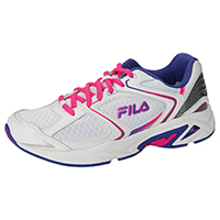 Fila USA Athletic Footwear White/RoyalBlue/PinkGlo (THUNDERFIRE-F149)