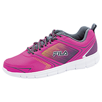 Fila USA Athletic Footwear KnockoutPink/Castlerock/Yellow (WINDSTAR2-F673)