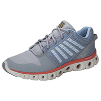 K-Swiss Athletic Tubes Techonology Footwear Quarry/BrightWhite/Coral (XLITETUBES-QBWC)