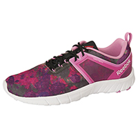 Reebok Athletic Footwear IconoPink/Black/SolarPink (ZBELLE-IPBP)