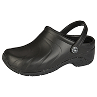 Anywear Anywear Injected Clog w/Backstrap Black (ZONE-BLK)