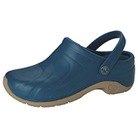 Anywear Anywear Injected Clog w/Backstrap Caribbean Blue (ZONE-CAR)