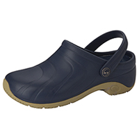 Anywear Anywear Injected Clog w/Backstrap Navy (ZONE-NVY)