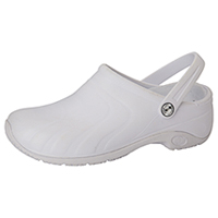 Anywear Anywear Injected Clog w/Backstrap White (ZONE-WHT)