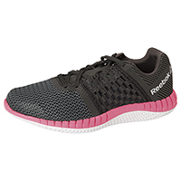 Reebok Athletic Footwear Black/Gravel/SolarPink/White (ZPRINTRUN-BGPW)
