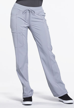Cherokee Low Rise Straight Leg Drawstring Pant Grey (1123A-GRY)