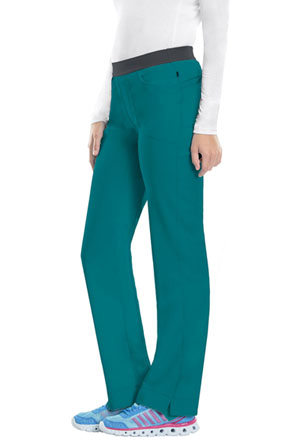 Cherokee Low Rise Slim Pull-On Pant Teal Blue (1124A-TLPS)