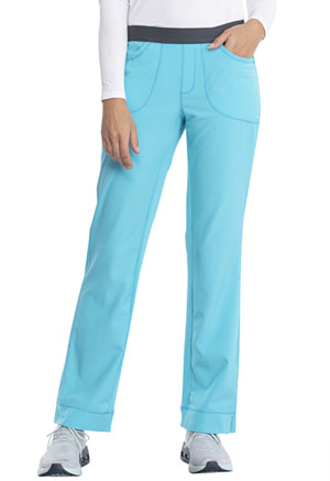 Cherokee Low Rise Slim Pull-On Pant Turquoise (1124A-TRQ)