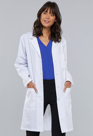 Cherokee 40 Unisex Lab Coat White (1346-WHT)