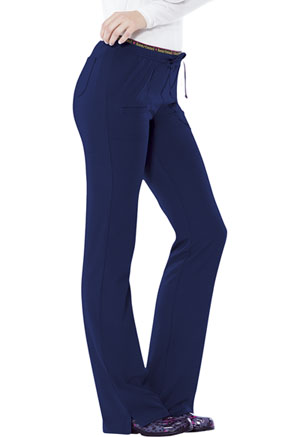 "HeartSoul Break on Through by HeartSoul Women's ""Heart Breaker"" Low Rise Drawstring Pant Blue"