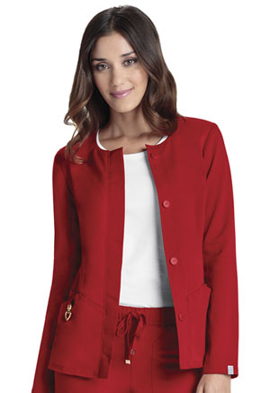 HeartSoul Button Front Jacket Red (20601A-RDHH)