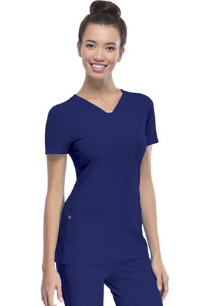 Break on Through Shaped V-Neck Top (20710-GLXH) (20710-GLXH)