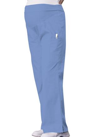 37321a34a67 Cherokee Maternity Knit Waist Pull-On Pant Ciel 2092-CIEB