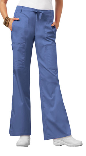 Luxe Low Rise Flare Leg Drawstring Cargo Pant (21100P-CELV) (21100P-CELV)