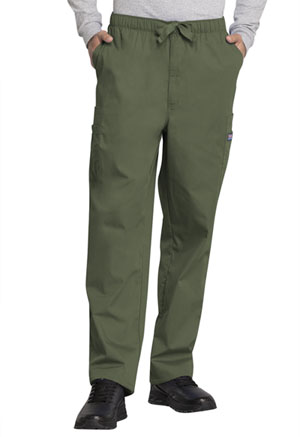 Cherokee Workwear WW Originals Men's Men's Drawstring Cargo Pant Green