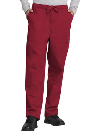 Cherokee Workwear Men's Fly Front Cargo Pant Red (4000-REDW)