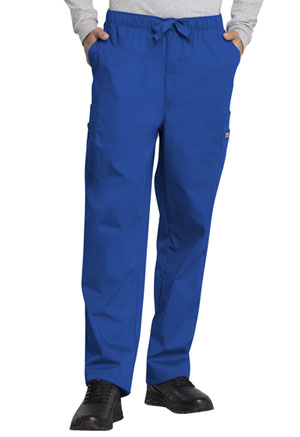 Cherokee Workwear Men's Fly Front Cargo Pant Royal (4000-ROYW)