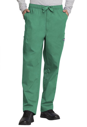 Cherokee Workwear Men's Fly Front Cargo Pant Surgical Green (4000-SGRW)