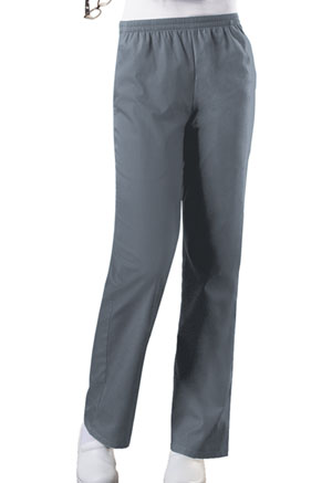 Cherokee Workwear WW Originals Women's Natural Rise Tapered Leg Pull-On Pant Gray