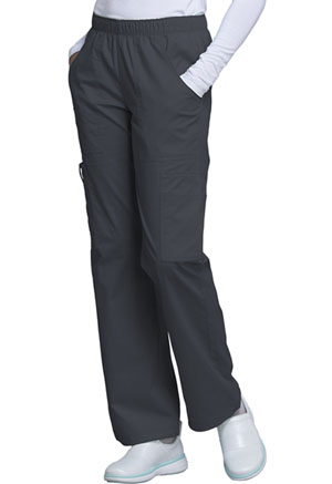 WW Core Stretch Mid Rise Pull-On Pant Cargo Pant (4005-PWTW) (4005-PWTW)