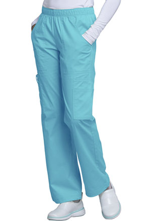WW Core Stretch Mid Rise Pull-On Pant Cargo Pant (4005-TRQW) (4005-TRQW)