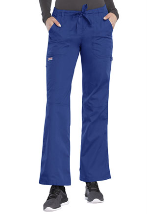 Cherokee Workwear Low Rise Drawstring Cargo Pant Galaxy Blue (4020-GABW)