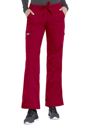 WW Originals Low Rise Drawstring Cargo Pant (4020-REDW) (4020-REDW)
