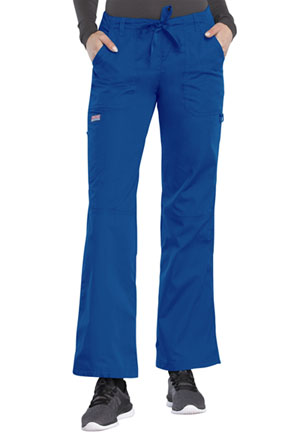 Cherokee Workwear Low Rise Drawstring Cargo Pant Royal (4020-ROYW)