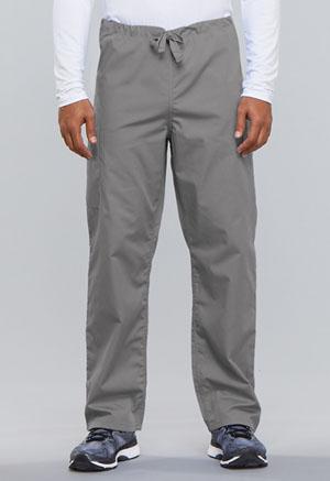 Cherokee Workwear WW Originals Unisex Unisex Drawstring Cargo Pant Gray