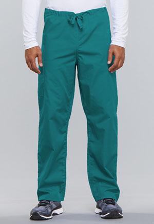 Cherokee Workwear WW Originals Unisex Unisex Drawstring Cargo Pant Green