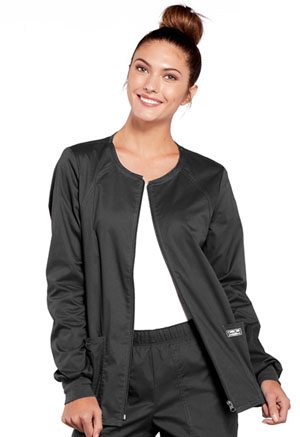 WW Core Stretch Zip Front Warm-Up Jacket (4315-PWTW) (4315-PWTW)