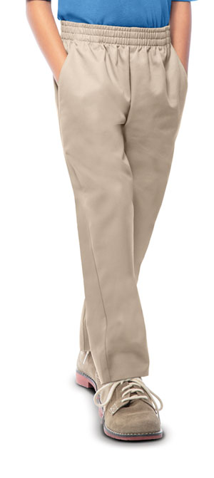 Classroom Uniforms Unisex Pull On Pant Khaki (51062-KAK)