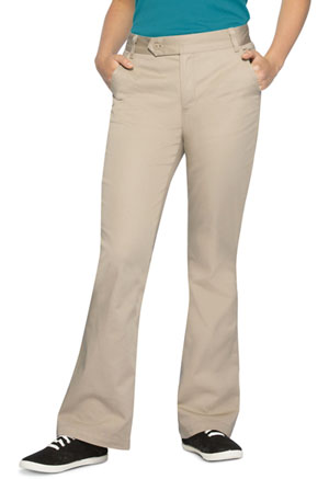 Classroom Uniforms Girl's Stretch Moderate Flare Leg Pant Khaki (51322A-KAK)