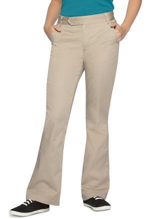 Classroom Uniforms Jr Stretch Moderate Flare Leg Pant Khaki (51324-KAK)