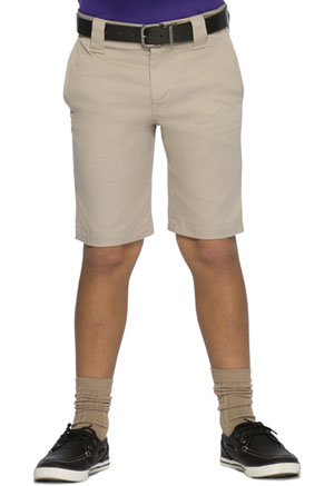 Classroom Uniforms Boys Stretch Slim Fit Shorts Khaki (52482A-KAK)