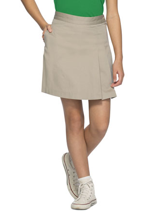 Classroom Uniforms Girls Stretch Double-Pleated Scooter Khaki (55272A-KAK)