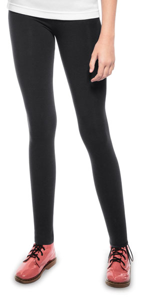 Classroom Uniforms Girls Leggings Black (59412-BLK)