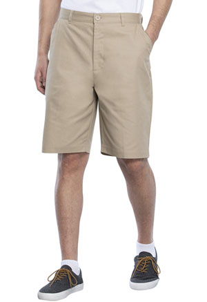 Real School Uniforms Real School Boys Flat Front Short Khaki (62362-RKAK)