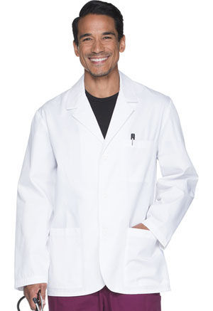 ScrubStar Men's 30 Lab Coat White (77931-WHTC)