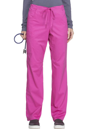 ScrubStar Women's Stretch Drawstring Pant Stretch Shocking Pink (77946-KSWM)